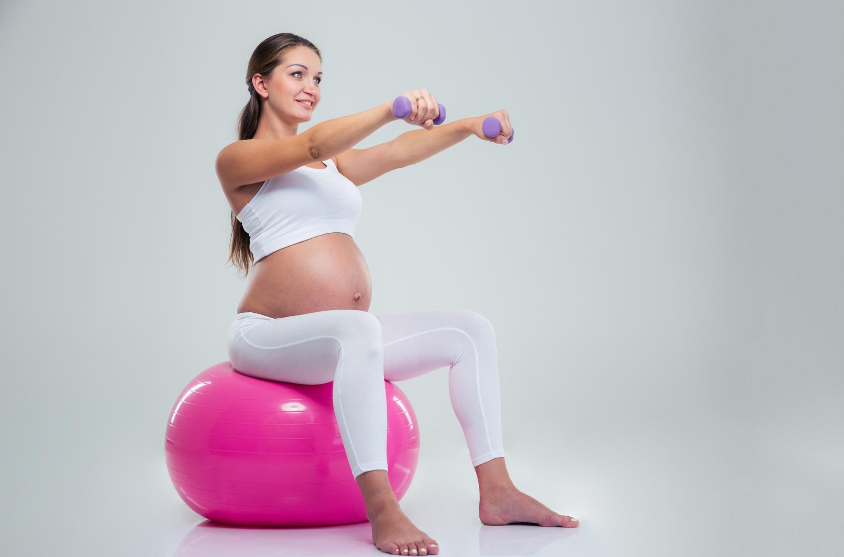 Упражнения для беременных 2 триместр с гантелями 1007